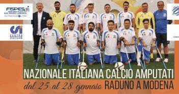 VIDEO - La Nazionale Italiana Calcio Amputati si è radunata a Corlo: il programma del weekend