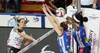 La Liu Jo Nordmeccanica Modena cede 3-0 con Novara