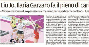 Liu Jo Nordmeccanica - Gazzetta di Modena, la carica di Ilaria Garzaro