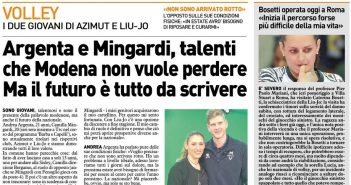 Liu Jo Nordmeccanica - Rassegna Stampa, operazione oggi per Caterina Bosetti