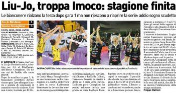 Liu Jo Nordmeccanica - Rassegna Stampa, la sconfitta con Conegliano chiude la stagione. E ora?