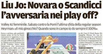 Liu Jo Nordmeccanica - Rassegna Stampa, sesto posto più vicino? Novara o Scandicci ai playoff
