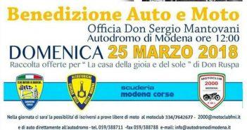 VIDEO - Benedizione di auto e moto all'autodromo di Modena