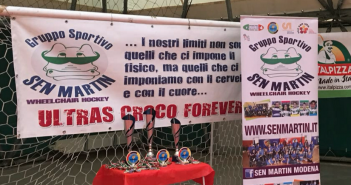 VIDEO - Wheelchair hockhey, il Sen Martin Modena vince la