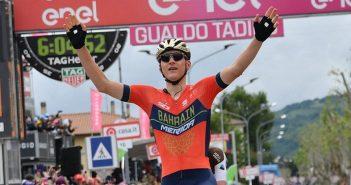 Giro d'Italia, 10ª tappa: a Gualdo Tadino la prima volta di Matej Mohoric