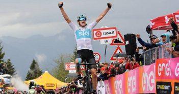 Giro d'Italia, 14ª tappa: Chris Froome è il Re dello Zoncolan