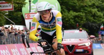 Giro d'Italia, 16ª tappa: la crono Trento-Rovereto se la prende Dennis