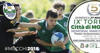 """Rugby - Il """"Città di Modena"""" scalda i motori, attesi 1200 ragazzi"""