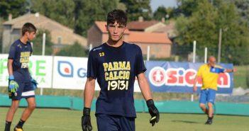 Modena Fc - Per la porta contatto con Daniele Rao del Parma