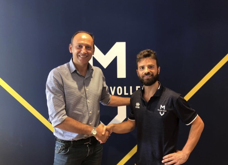 Modena volley roberto ciamarra torna a casa sar lo for Casa modena volley