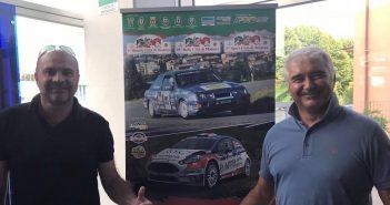 Rally di Modena 2018 - La presentazione di Riccardo Bedoni, commissione sportiva ACI e Gabriele Casadei, organizzatore dell'evento