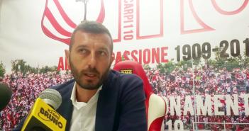 """Carpi Fc - Resto del Carlino - Stefanelli: """"Prematuro sostenere che siamo l'anti-Vicenza"""""""