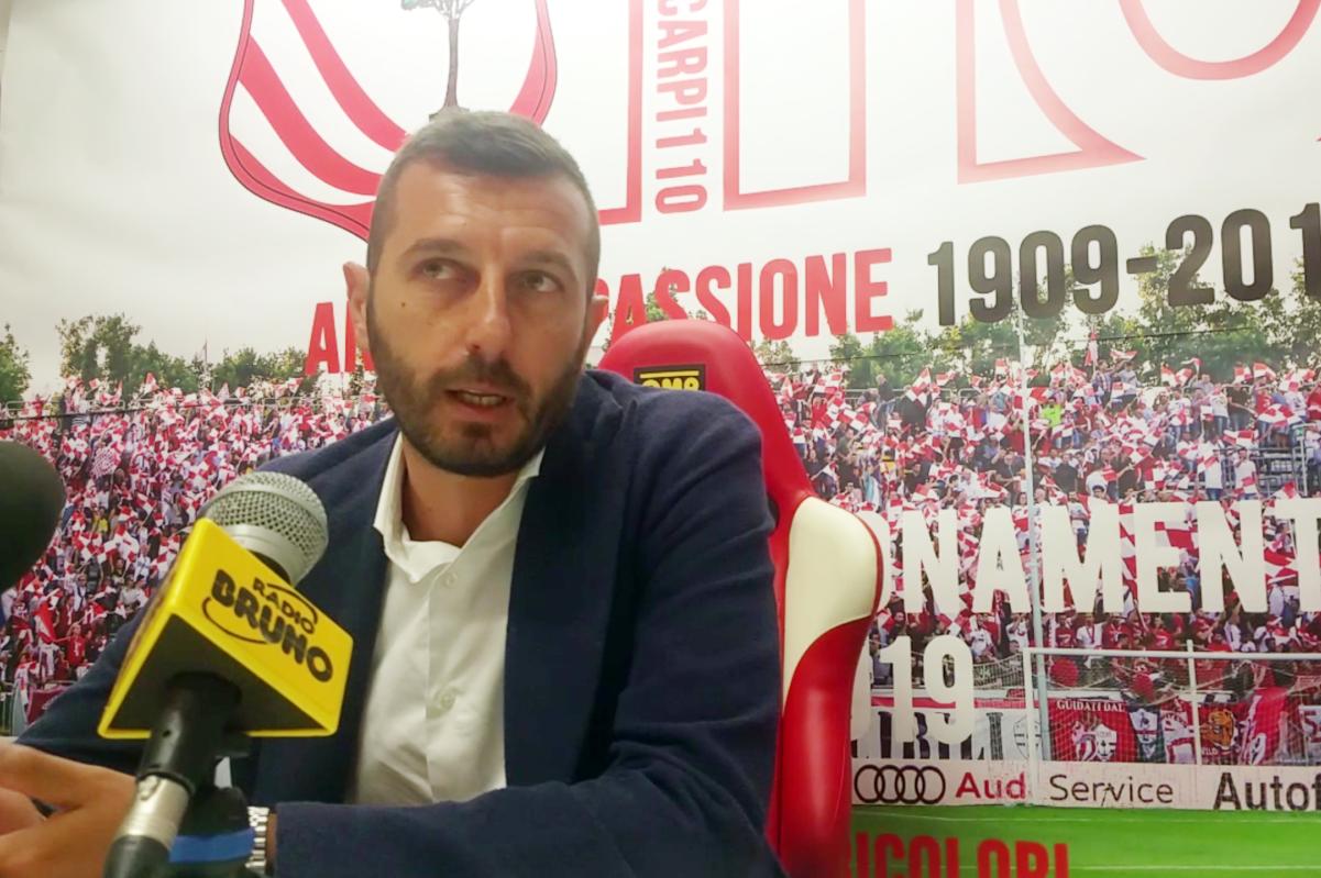 Vicenza-Carpi 1-0, le dichiarazioni del dg Stefano Stefanelli