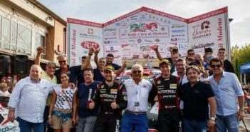 Motori - G.B. Motors Racing Team e Andrea Dalmazzini protagonisti al Rally Città di Modena 2018