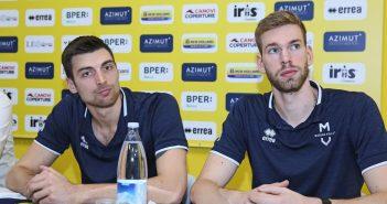 Modena Volley, Anzani e Cantagalli in vista del match contro Ravenna: