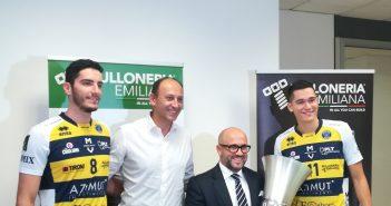 Modena Volley: presentata la partnership con Bulloneria Emiliana