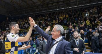 Modena Volley, il saluto di Julio Velasco