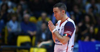 Modena Volley - Il saluto di Totò Rossini al pubblico gialloblu