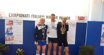 Atletica, dieci titoli italiani per La Fratellanza ai campionati Master Indoor