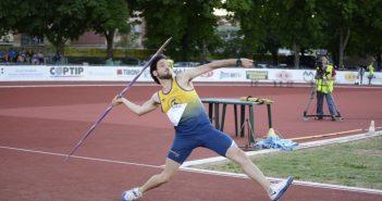 Atletica, Saltini vince il giavellotto ai campionati invernali di lanci. Primato nel peso per Quaglieri a Padova