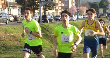 Atletica, prima prova del campionato provinciale di corsa campestre a tinte gialloblu