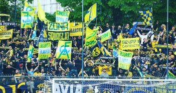 Invasione per Modena-Pergolettese, oltre 3600 tifosi gialloblù a Novara!