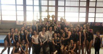Ginnastica Artistica - Intenso weekend di gare per la Visport: medaglie ottenute nelle prove di Guastalla e Traversetolo