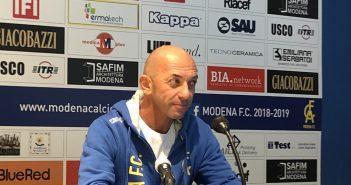 Modena-Adrense 1-0, mister Bollini:
