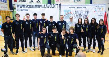 Scuola di Pallavolo Anderlini - Presentati la Spring Cup e il Trofeo Bussinello 2019