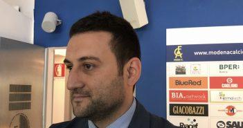 """Modena Fc, Andrea Russo: """"Playoff unico modo per guadagnarsi un eventuale ripescaggio"""""""