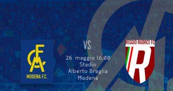 Modena FC - Resto del Carlino - Spareggio che vale