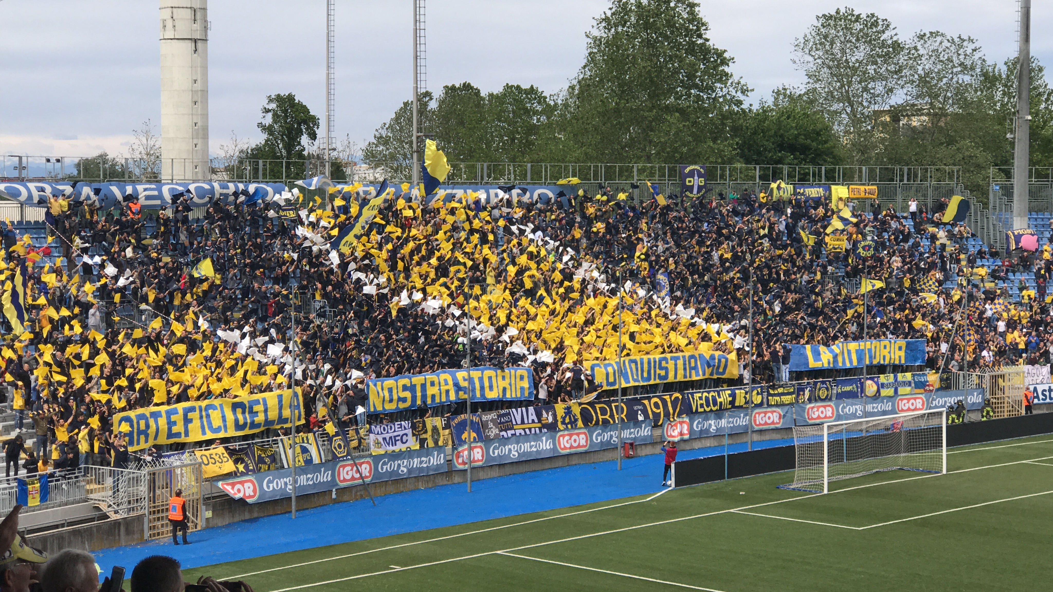 """Modena Fc - """"Artefici della nostra storia, conquistiamo la vittoria"""""""