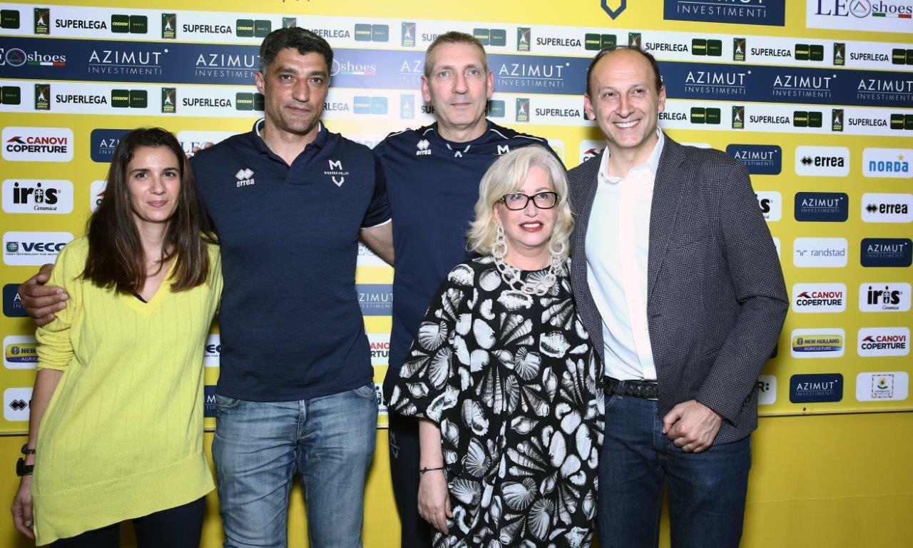 Modena Volley, la presentazione di Andrea Giani