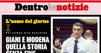 Modena Volley - Gazzetta dello Sport: Giani e Modena, quella storia senza fine
