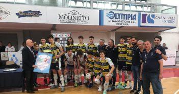Modena Volley - L'Azimut Leo Shoes U18 è Campione Regionale!