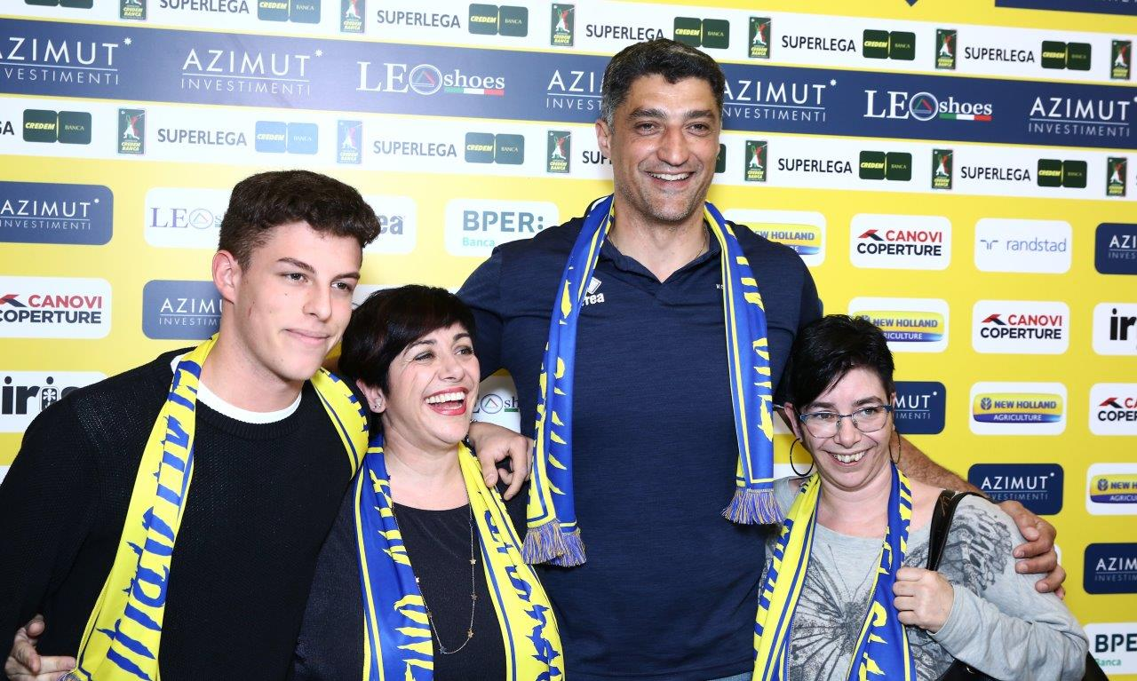 """Modena Volley, Giani: """"Giocheremo per vincere"""""""