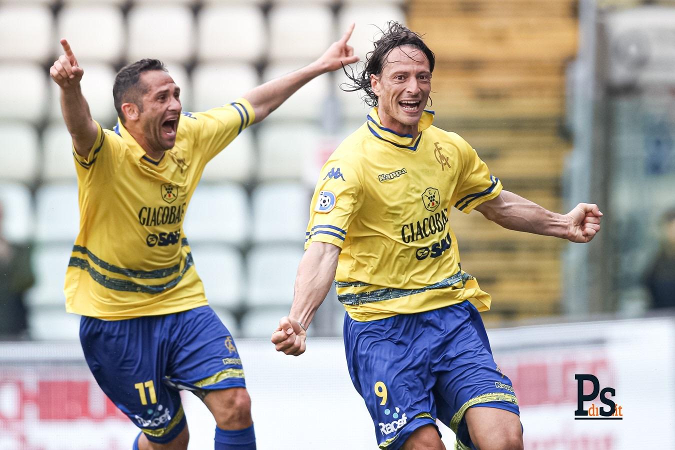 Modena-Reggio Audace 4-1, i quattro gol dei gialloblù
