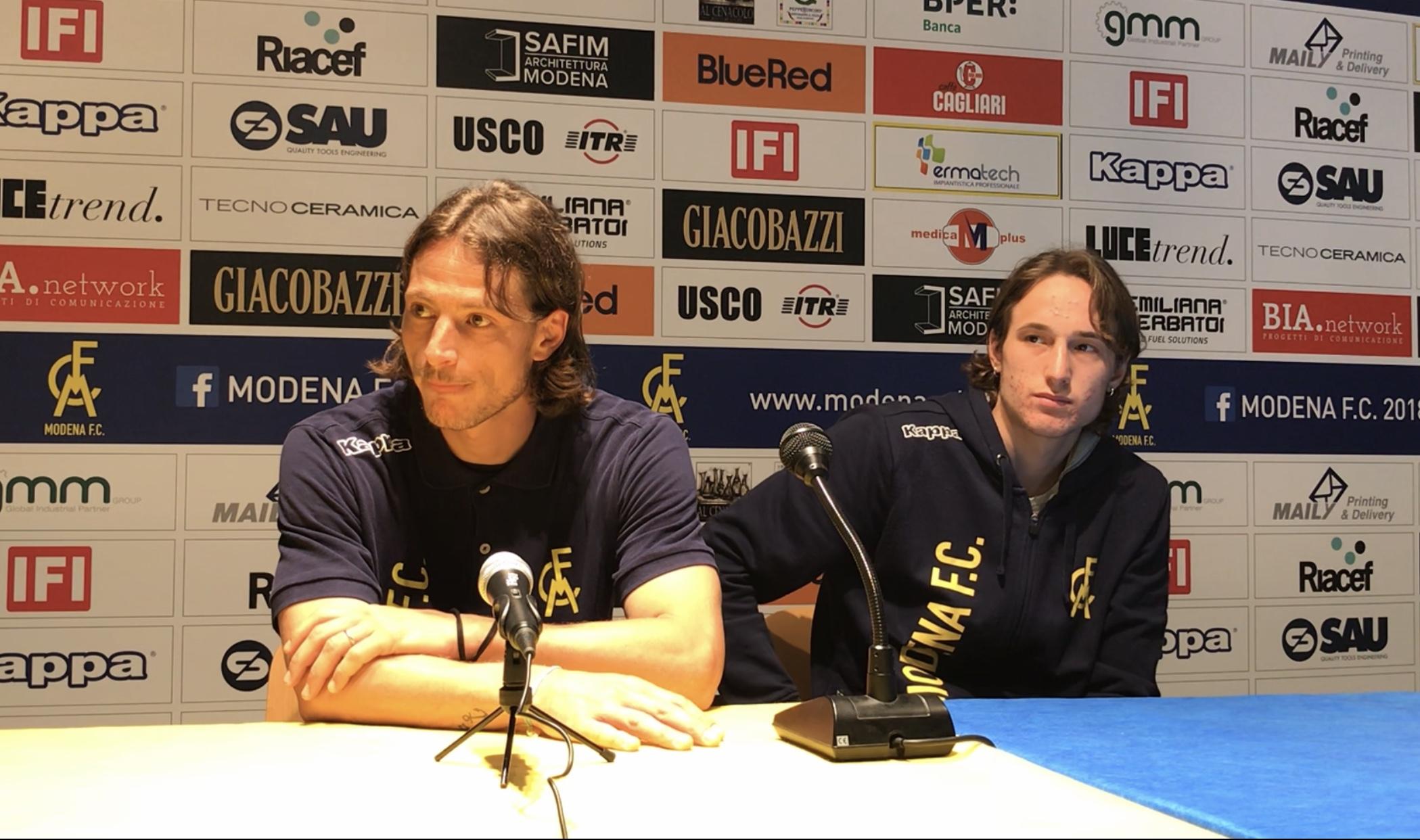 Modena-Fiorenzuola 3-2: le parole di Sansovini, Ferrario e Duca