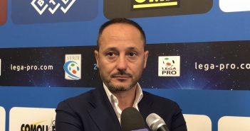 """Modena Fc, Carmelo Salerno: """"Non dobbiamo mollare, l'obiettivo è portare la squadra in serie C con i playoff"""""""