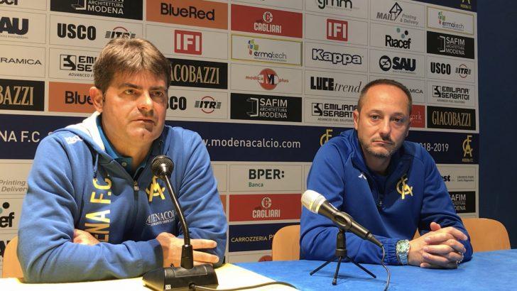 Modena-Reggio Audace 4-1, Carmelo Salerno: