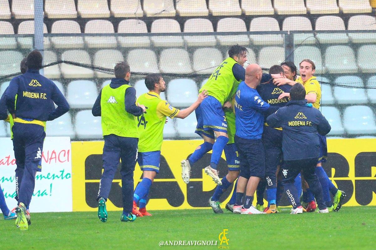 Serie D, highlights Modena-Fiorenzuola 3-2
