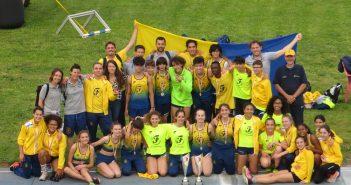 Atletica, la Fratellanza trionfa ai Campionati di Società Cadetti