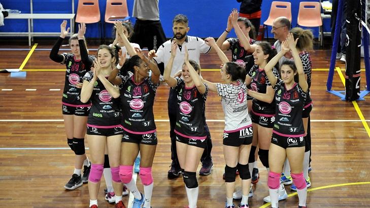 Volley Femminile - Pallavolo Montale promossa in A2