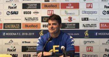 """Modena Fc, mister Malverti: """"Attenzione e voglia di riscatto per fare risultato contro il Fiorenzuola"""""""