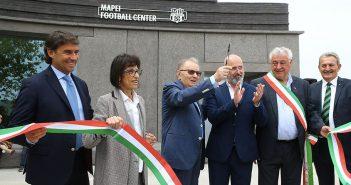 Sassuolo, inaugurato il Mapei Football Center. Squinzi: