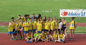 Atletica, Fratellanza seconda alla finale regionale dei CdS Ragazzi