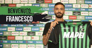 UFFICIALE - Sassuolo, arriva l'attaccante Francesco Caputo