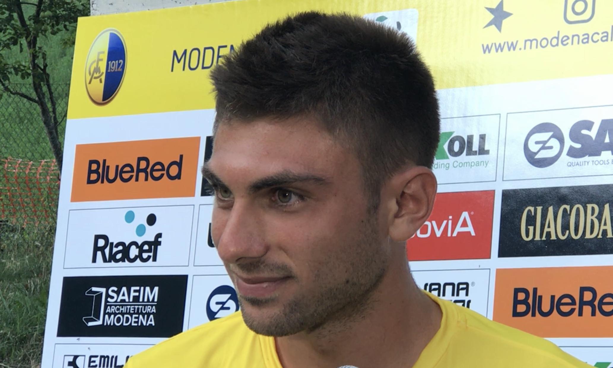 Modena-Rappresentativa AIC, assist di Messori e gol di Rossetti