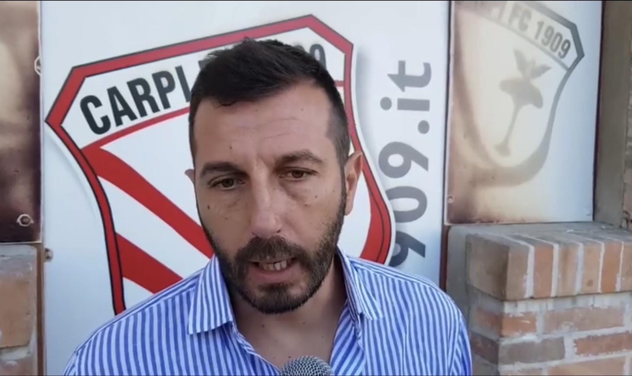 Carpi, le parole del ds Stefano Stefanelli