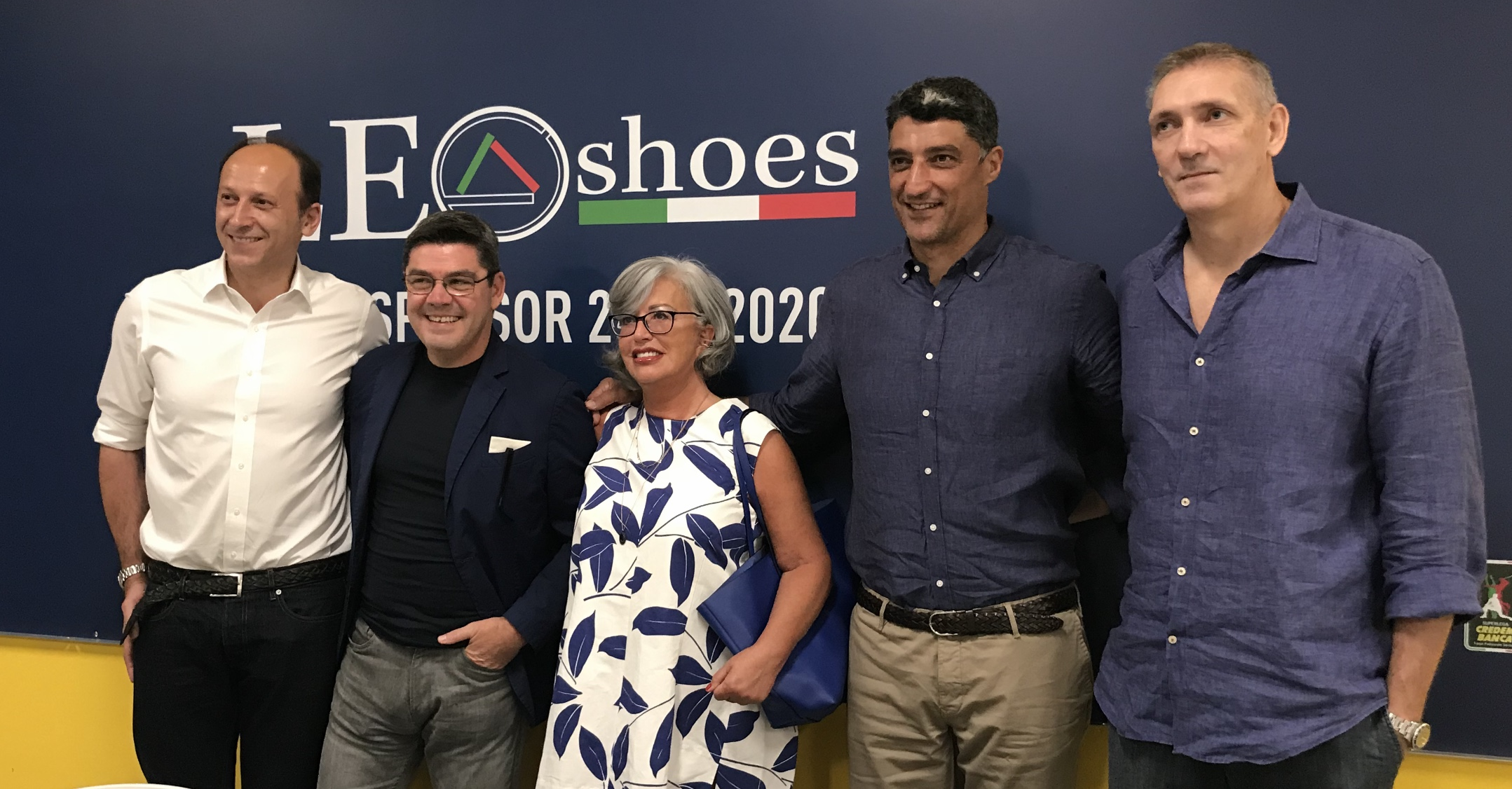Modena Volley, presentazione title sponsor Leo Shoes